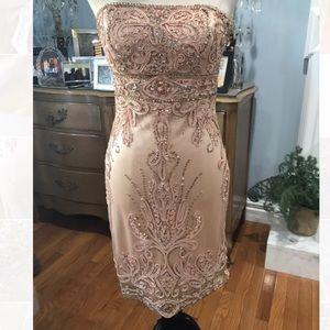 7e4475d6ac Sue Wong Gorgeous Beaded Sequins Dress Size 6